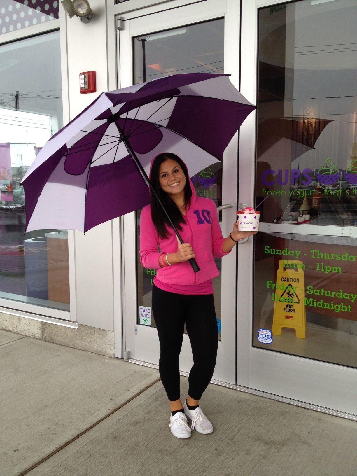 Rainy day @ #CUPS Paramus!
