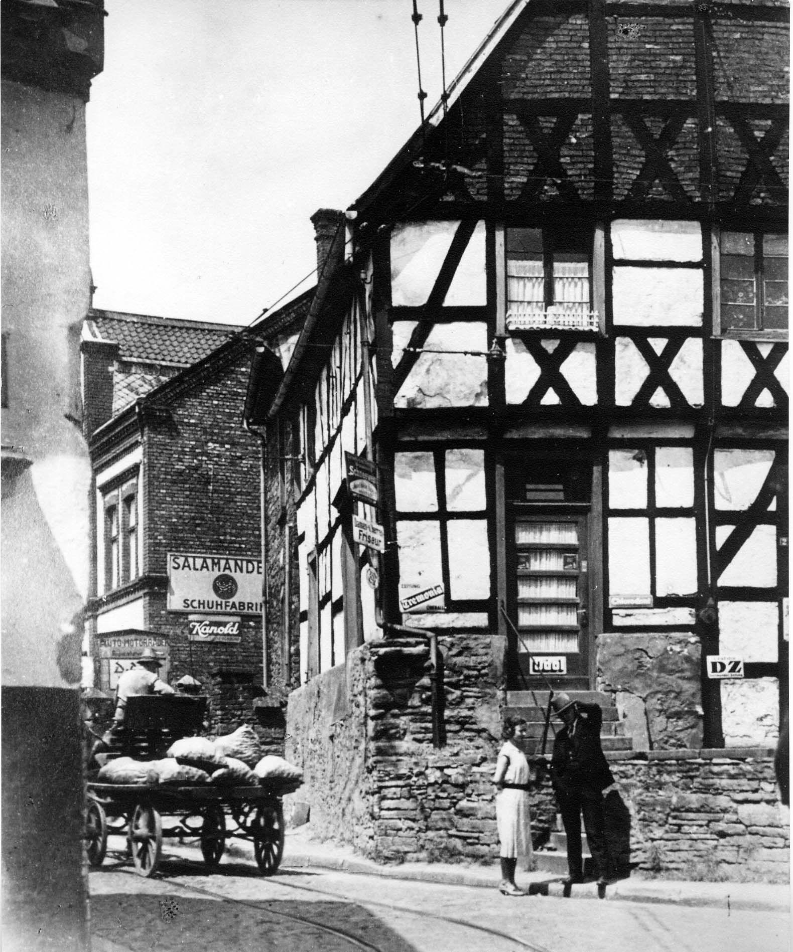 Hauptstraße, Herdecke, Westfalen, 30er Jahre Historische