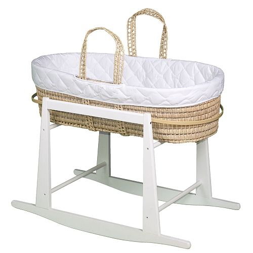 Jolly Jumper Quilted Moses Basket