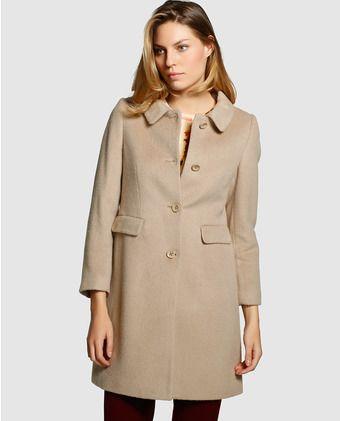 beige roberto de Pinterest verino mujer entallado Abrigo Costura Bw7q6gqv