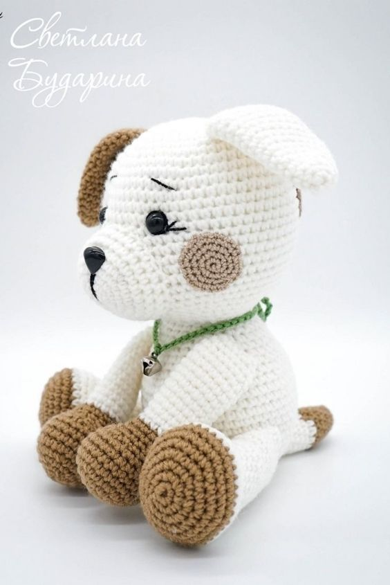 Photo of Схема вязания собачки амигуруми # схемыамигÑ …