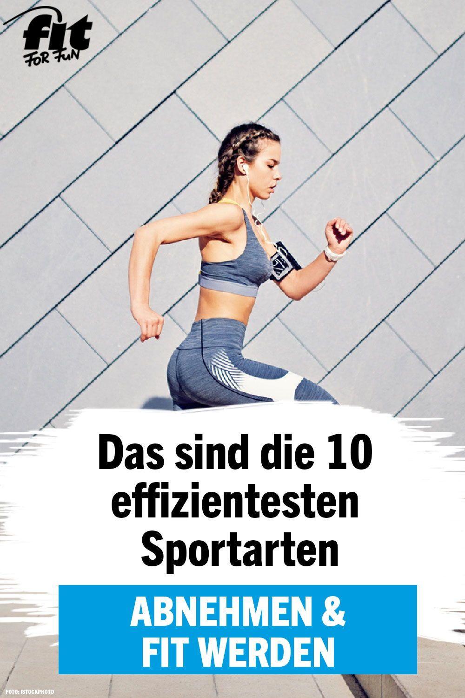 sportarten zum abnehmen