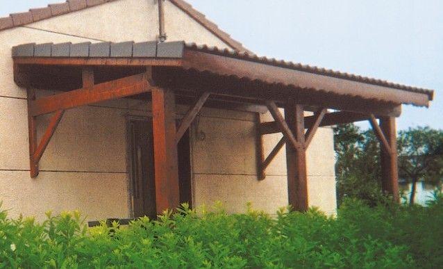 Construction du0027un auvent sur sa terrasse Tatoo and Atelier - construction d une terrasse bois