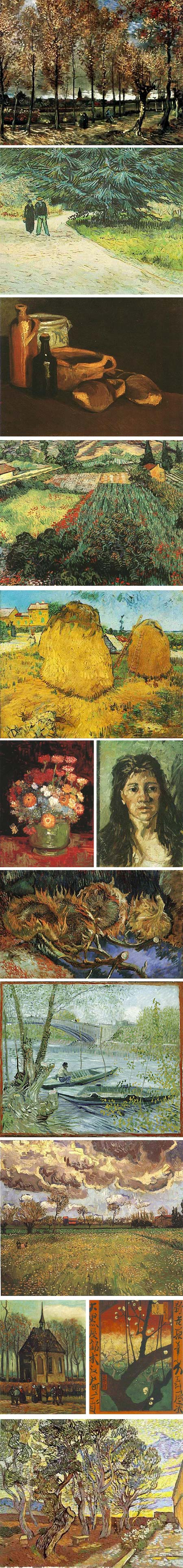 lesser know works by Van Gogh