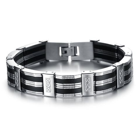 Chain Cuff Stainless Steel Men S Bracelet