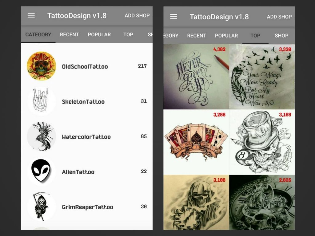 The 6 Best Tattoo Design Apps Of 2020 In 2020 Tattoo Design Apps Best Tattoo Designs Latest Tattoos