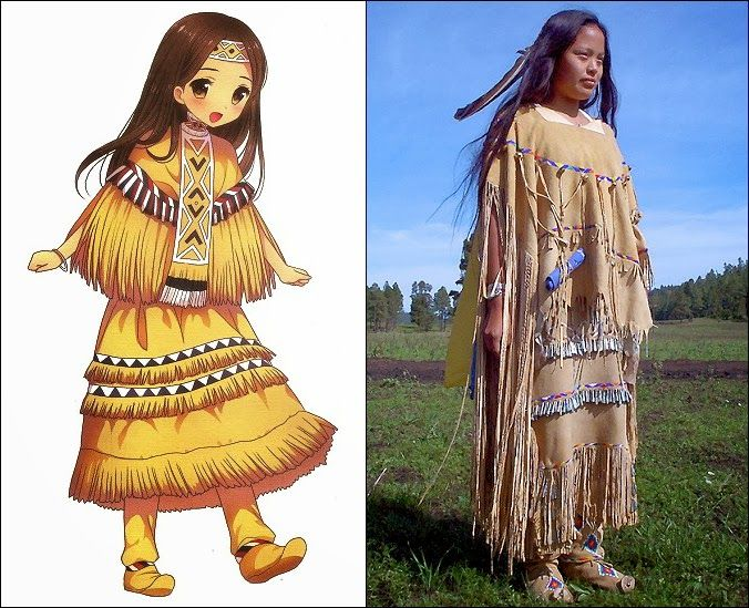 Traditional Clothes Of Apache People In United States Of