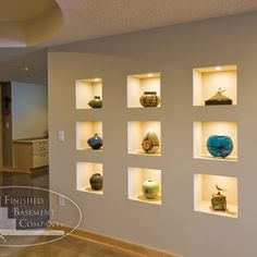 Delightful Wall Niche Ideas | ... Niches Are Built In To The Wall,