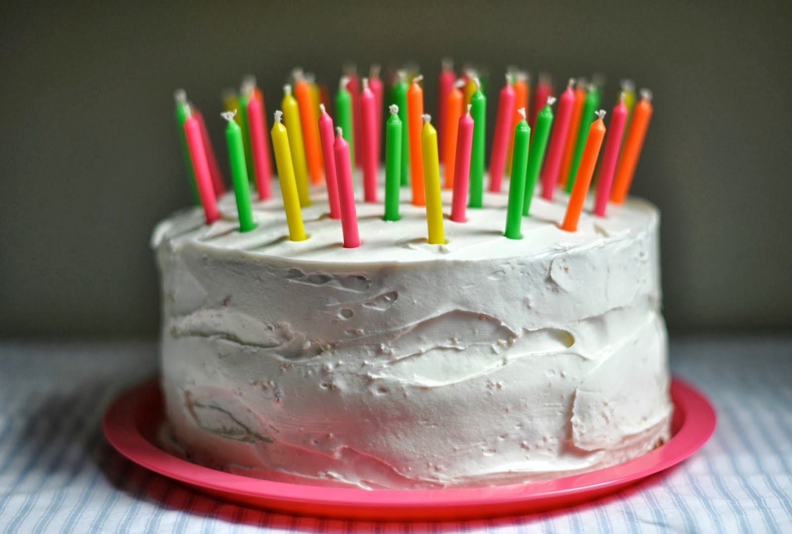 Happy Birthday Cakes With Lots Of Candles Birthday Pinterest