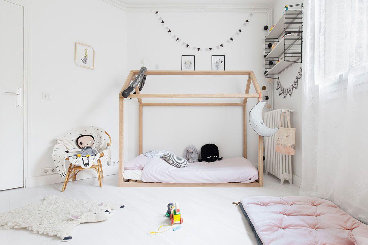 Une Chambre De Petite Fille Girly Et Graphique Chambre De Petites
