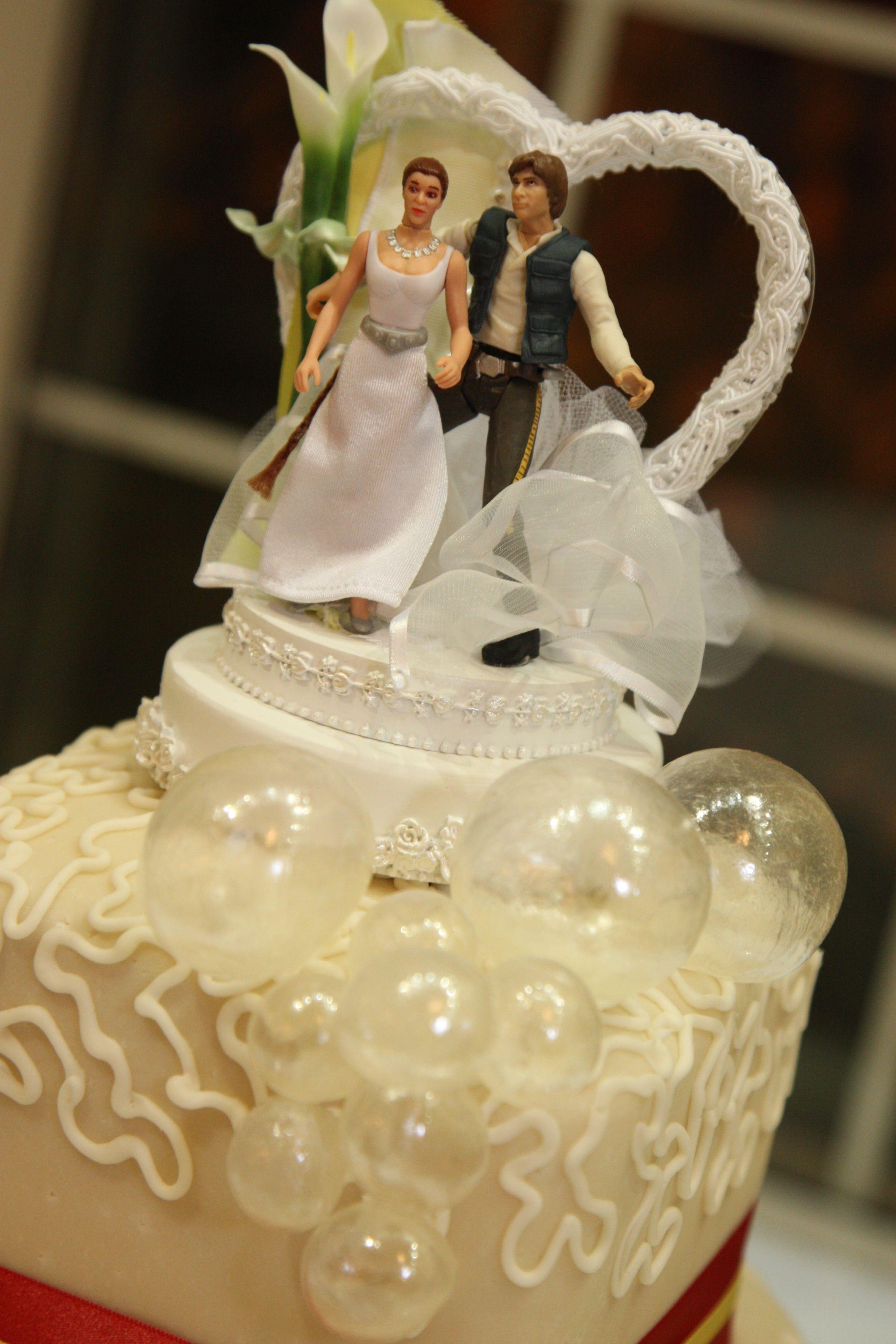 Star Wars themed wedding cake | Nerd Love | Pinterest | Themed ...