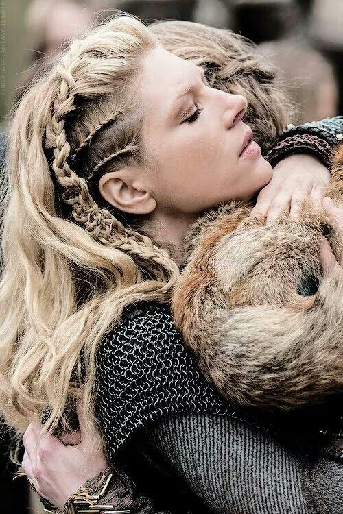Lagartha Viking Haar Haar Vlechten Kapsels