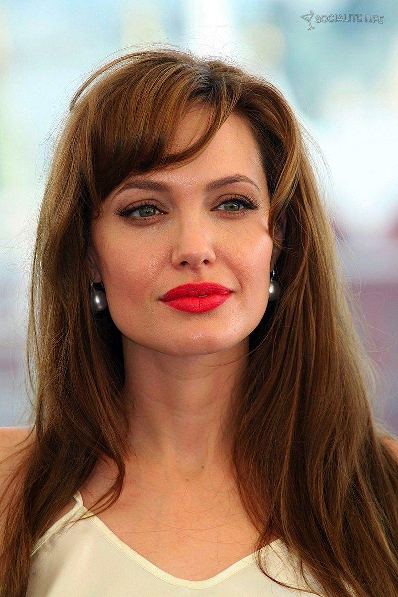 Angelina Jolie Red Hair. Angelina Jolie's signature look is ...