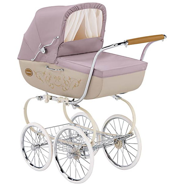 vintage inspired baby stroller I can totally see you