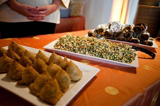 Asian Mehndi Party : Food for mehndi party? samosas. chutneys. desi or something else