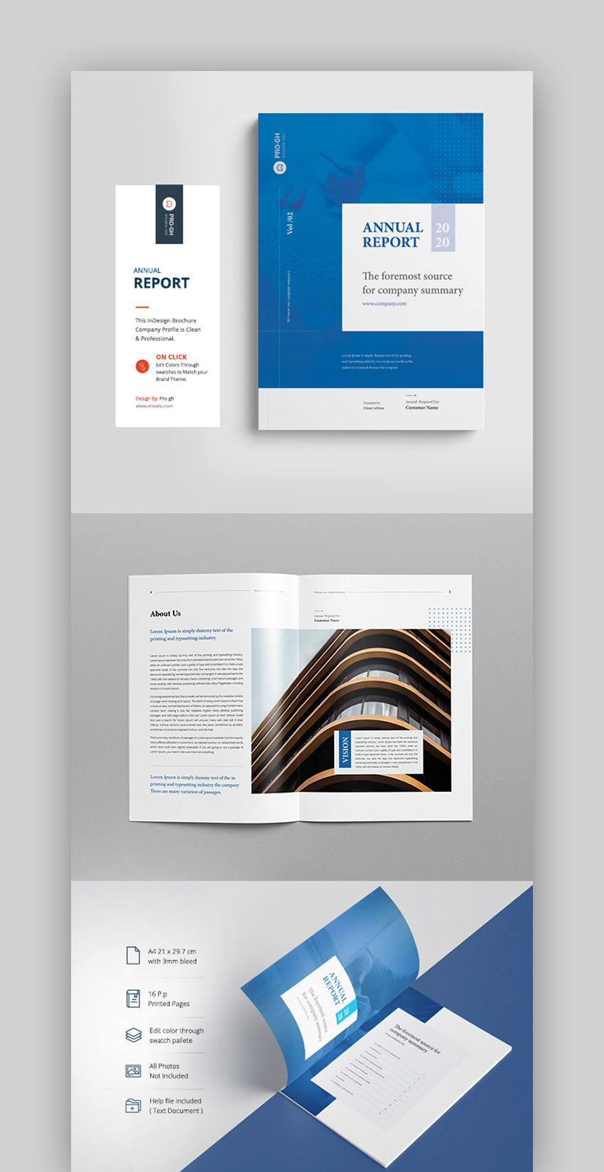 25 Best Annual Report Templates With Creative Indesign Regarding Summary Annual Report Template Indesign Layout Report Design Template Annual Report Layout