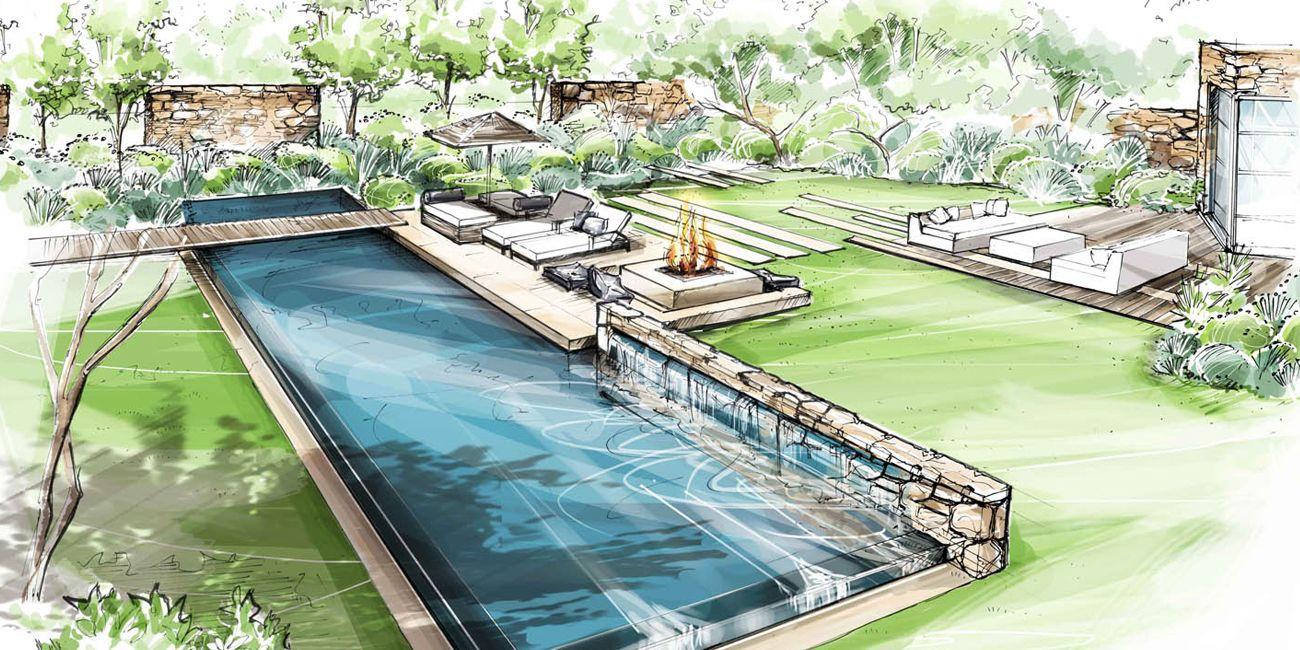 Jardin saint remy de provence loup co architectural for Arquitectura de jardines