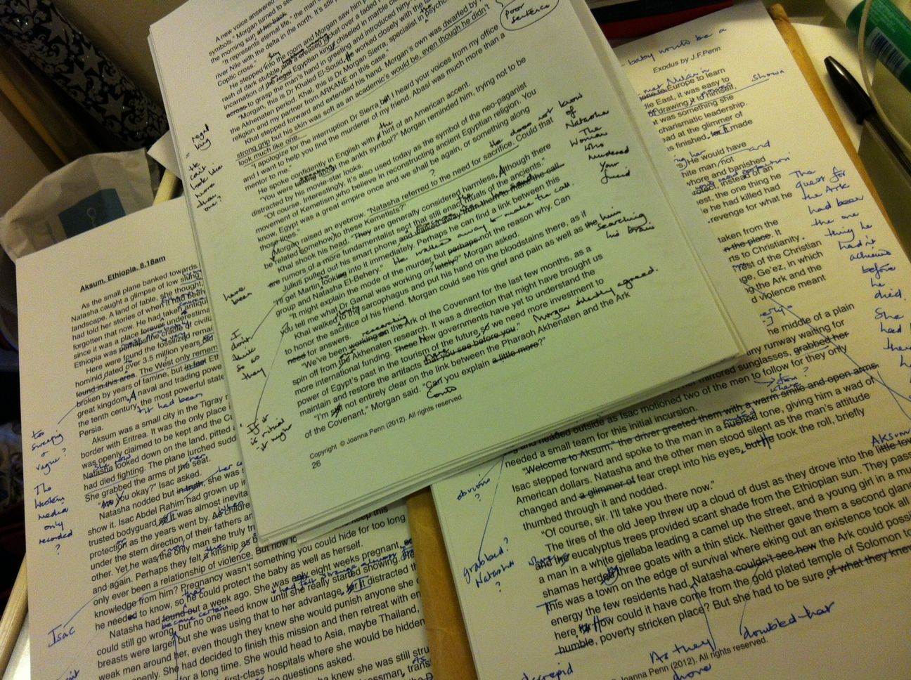 Editors Notes Exodus By Joanna Penn