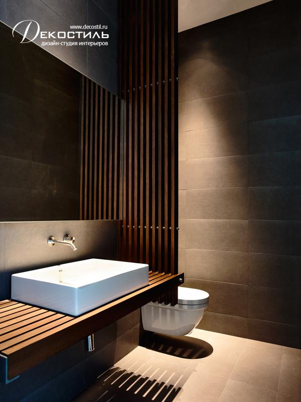 s parateur en bois salle de bain sous sol lambris mural salle de bains avec wc et parement. Black Bedroom Furniture Sets. Home Design Ideas