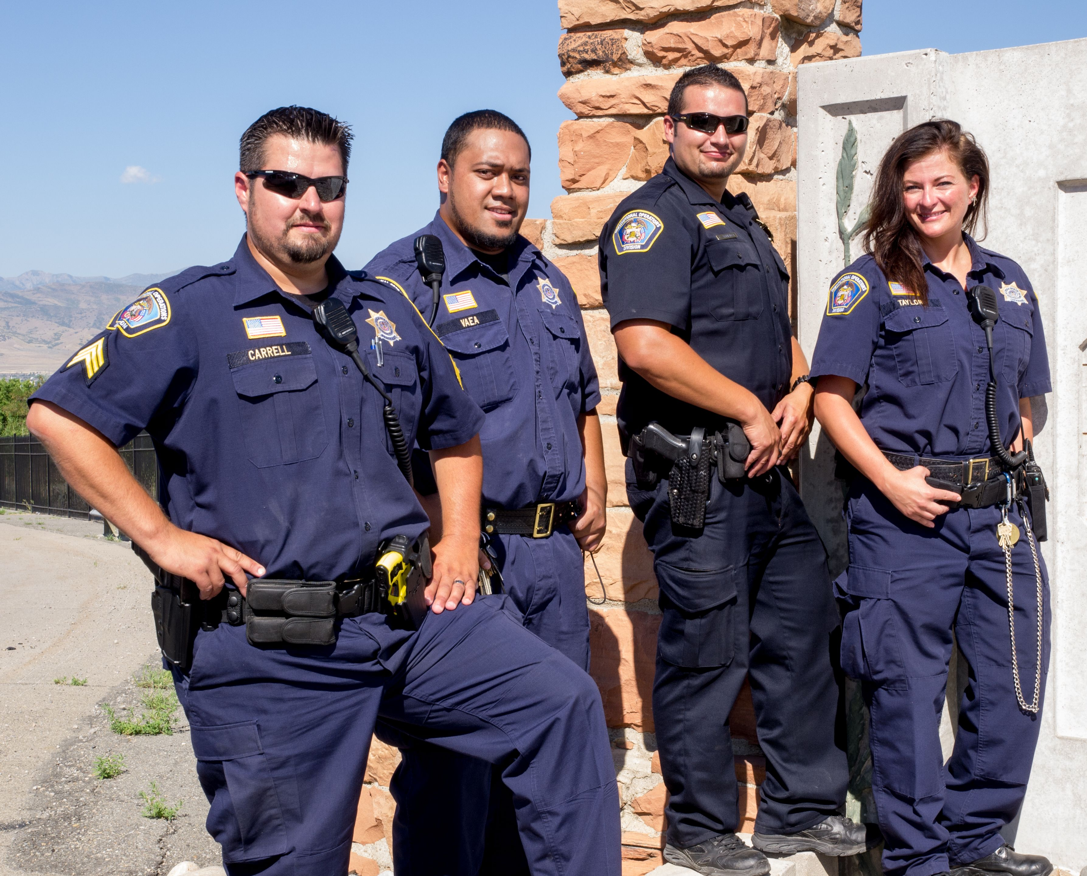 We are hiring Correctional officers at the Central Utah