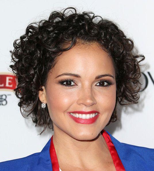 Susie Castillo Short Curls In 2019 Short Curly Hair Short