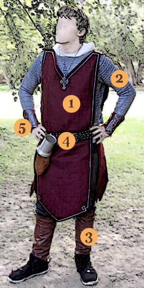 DIY Knight Costume - for only 20 dollars! | Saynotsweetanne.com  This is doable…