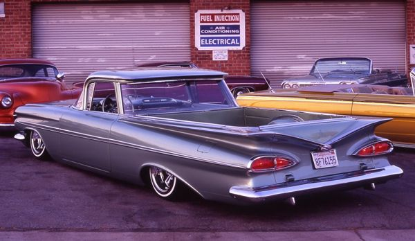 Richie Valles 1959 El Camino Lowrider Trucks Chevrolet Old
