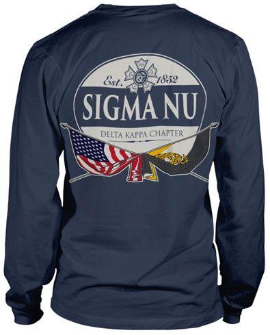 8e855786 Sigma Nu Rush T-shirt. | Fraternity Shirts | Fraternity rush shirts ...