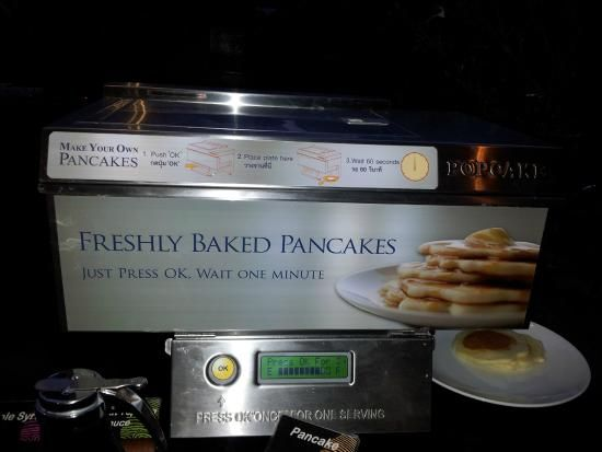 Freshly Baked Pancake machine