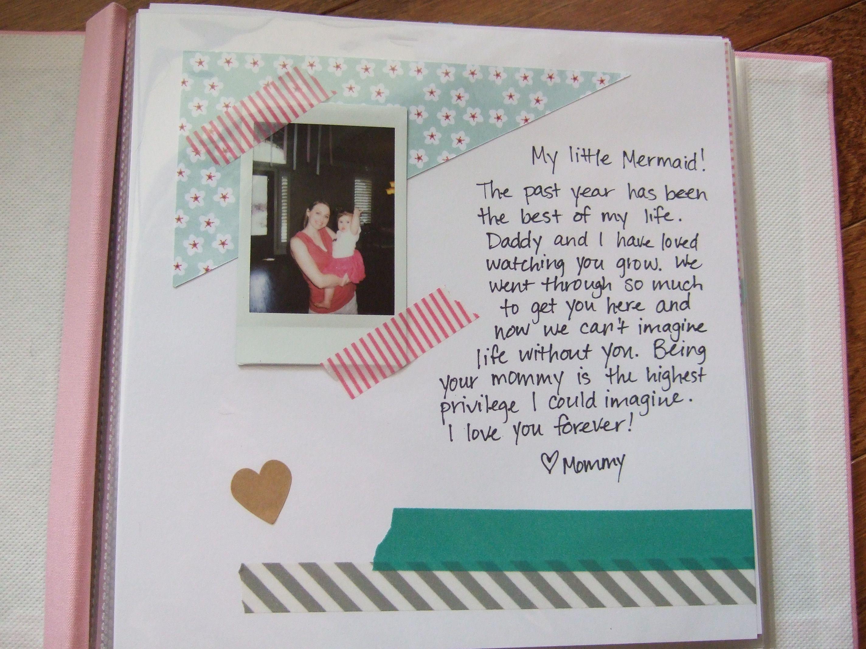 Our story so far anniversary memory book scrapbook photo album