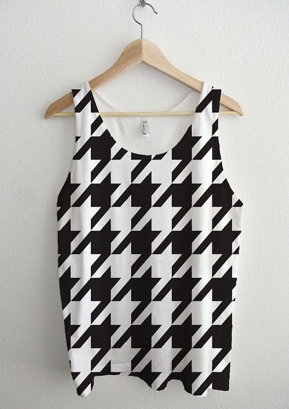 Houndstooth Essential All Over Sublimation Print by AvaWilde