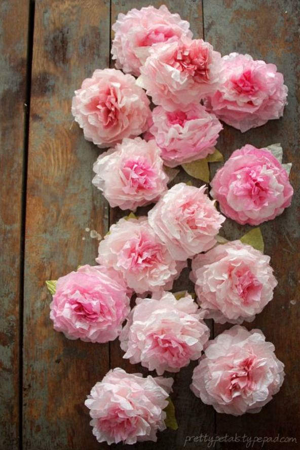 Peony coffee filter flowers spring inspiration coffee filter coffee filter flowers are easy to make budget friendly and there are a ton of mightylinksfo