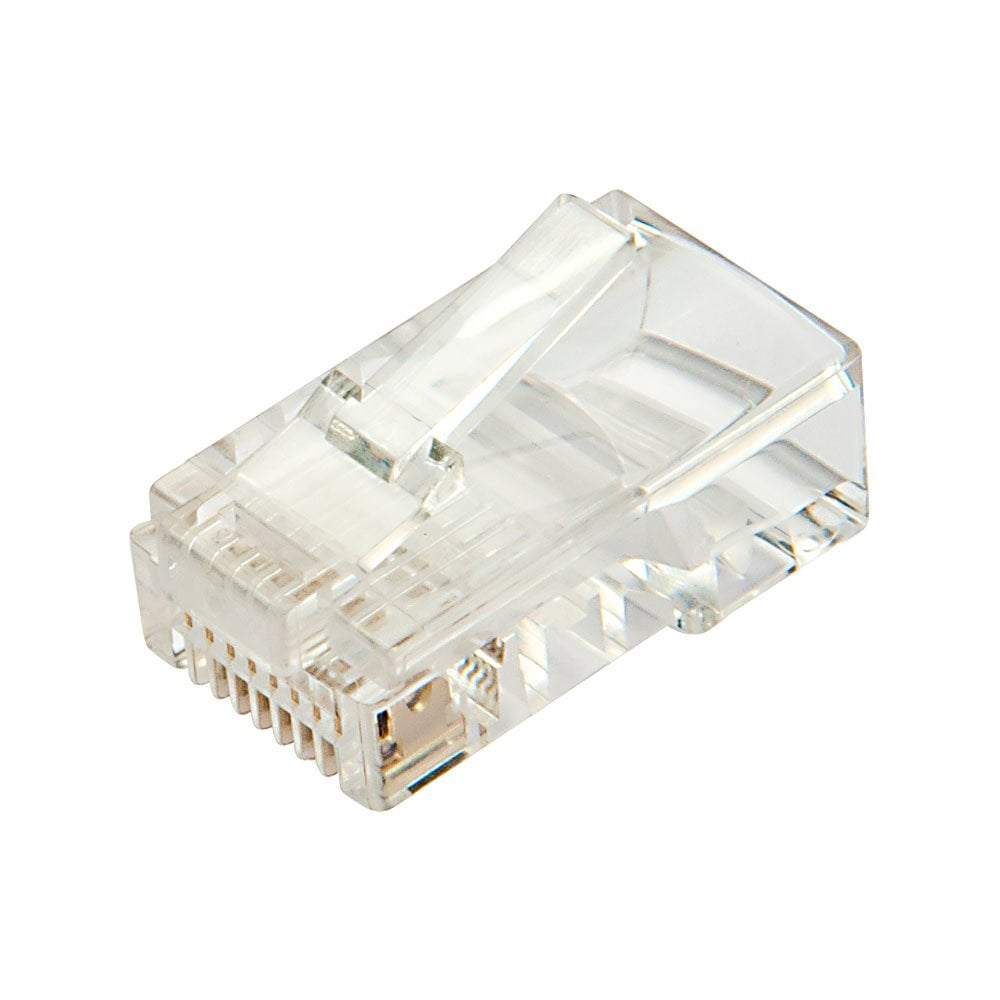 RJ45 Connector UTP Cat. 5e, Pack of 10 Hdmi cables