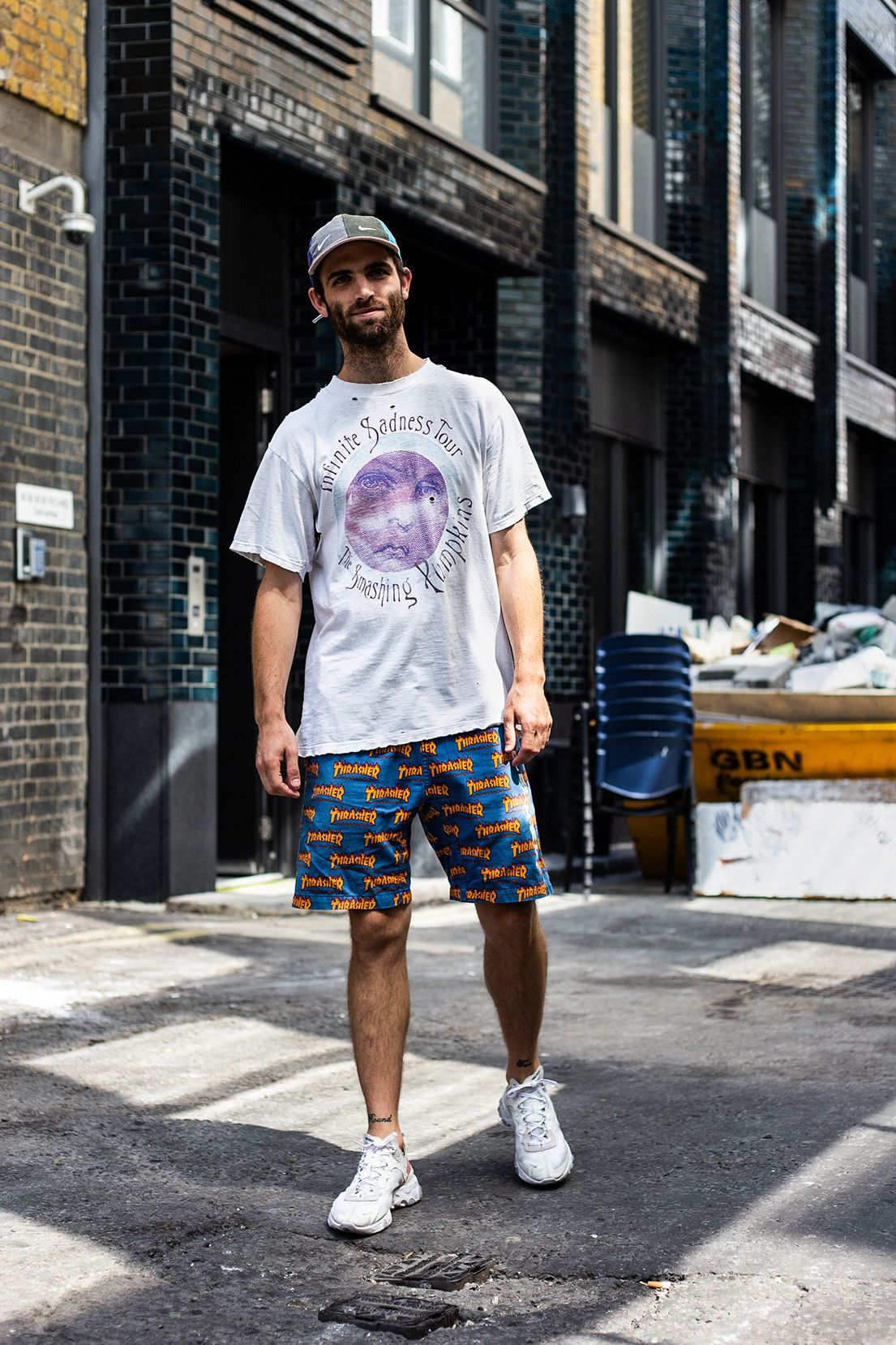 Streetsnaps: Sean Wotherspoon in London