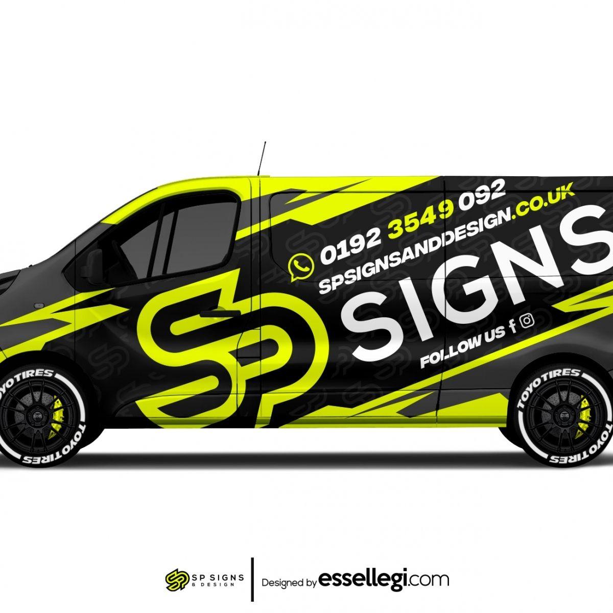 Sp Signs And Design Van Wrap Design Van Wrap Van Signage Vehicle Signage [ 1200 x 1200 Pixel ]