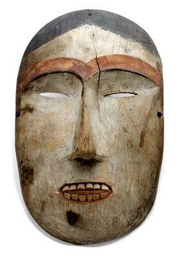 "kiinauq ""mask"" , Bering strait, Inupiaq"