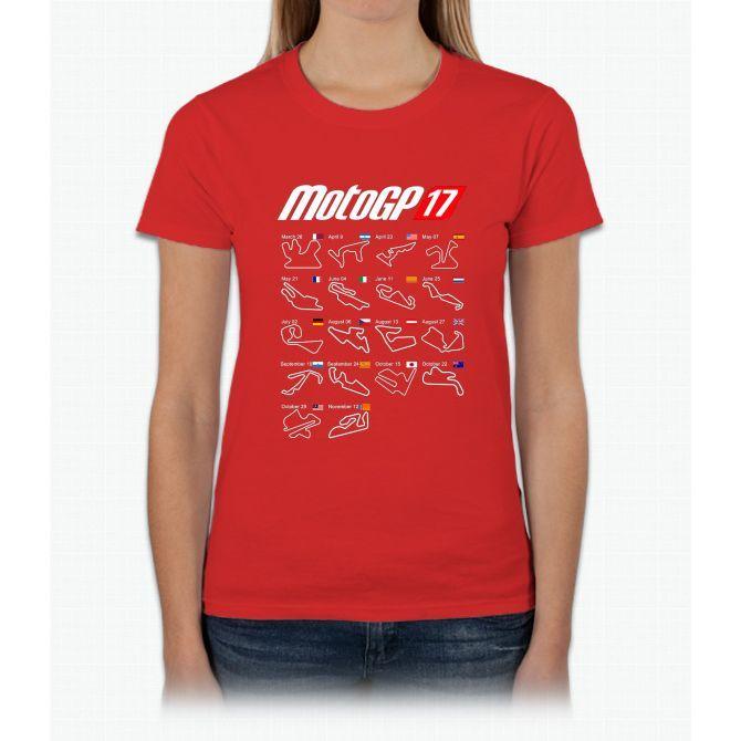 motogp 2017 calendar all circuits womens t shirt