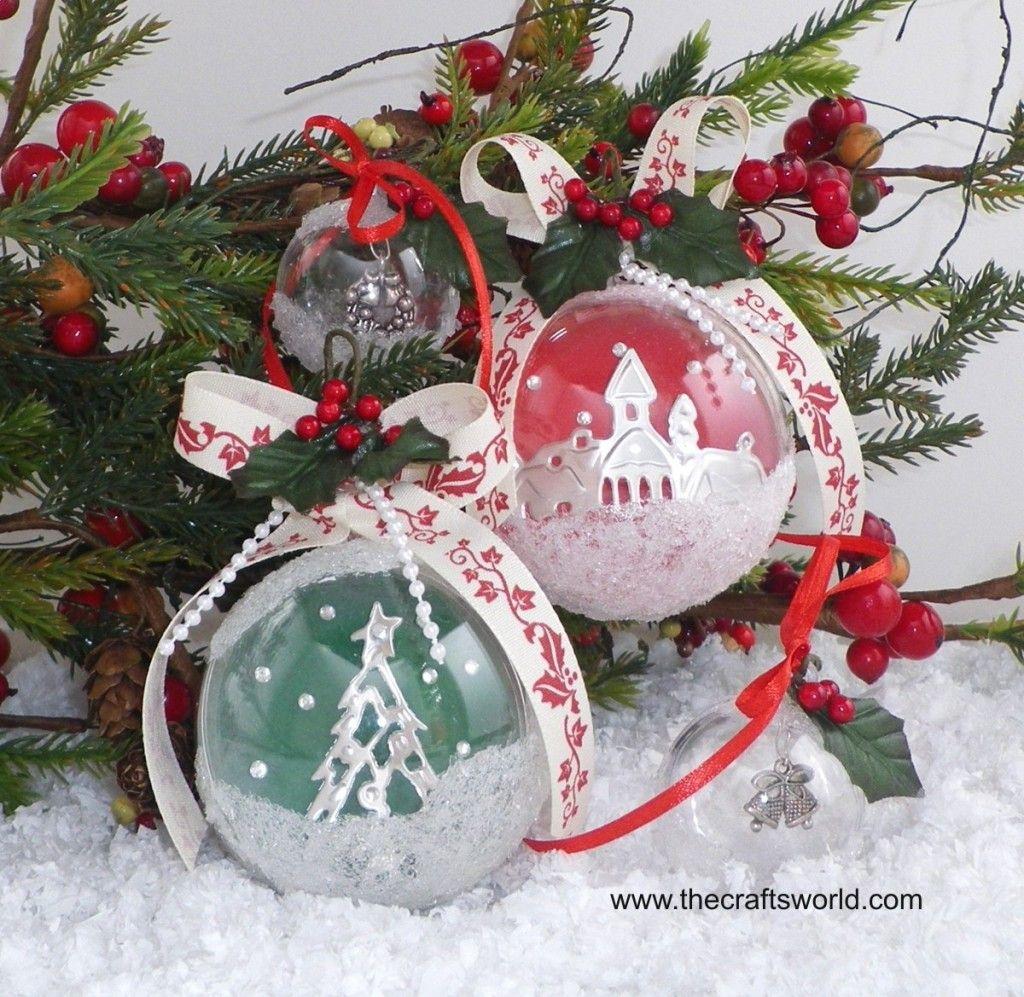 Acrylic clear ornaments - One Clear Acrylic Two Part Round Ball Shaped Container Just Waiting To Be Decorated And Filled With Treats