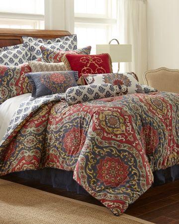 King Comforter Sets Beautiful Bedding, Nina Campbell Holiday Bedding