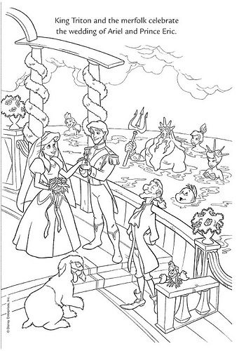 ariel coloring pages wedding flowers | Wedding Wishes 41 by Disneysexual, via Flickr ariel prince ...