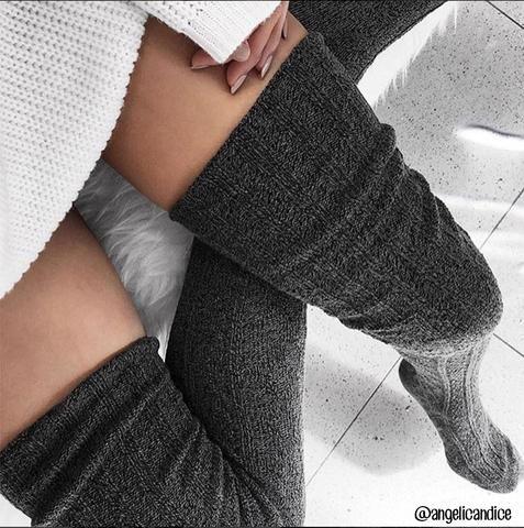 70245ada0cf Thigh High Socks