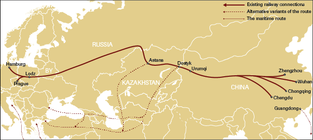 The New Silk Road a versatile instrument in China s policy