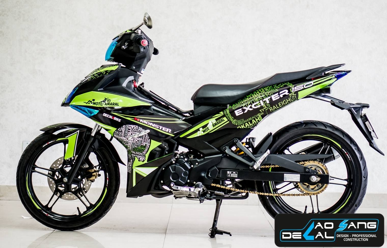 Pin by CAO SANG DECAL on tem exciter 150 | Motorcycle, Vehicles