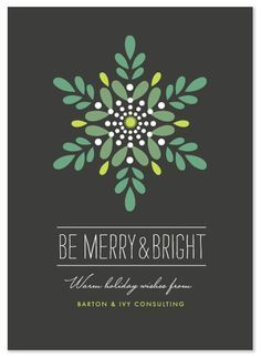 Pin by on illustration pinterest holidays cards and xmas nice coloring friendly but professional style minted business holiday cards luminosity by griffinbell studio reheart Image collections