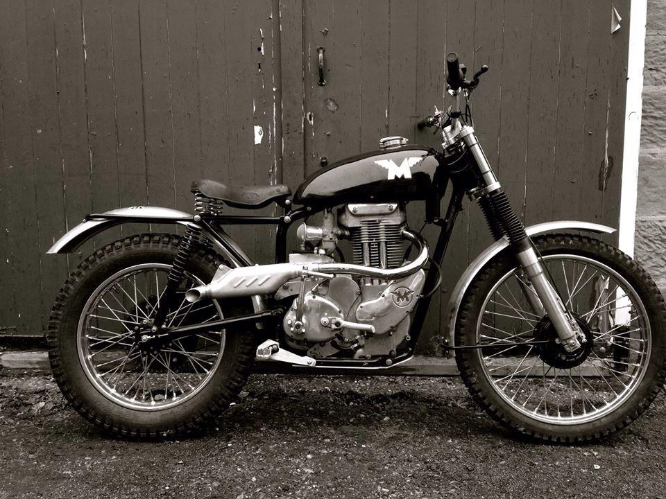 Beautiful Matchless G3C 1961 trials bike