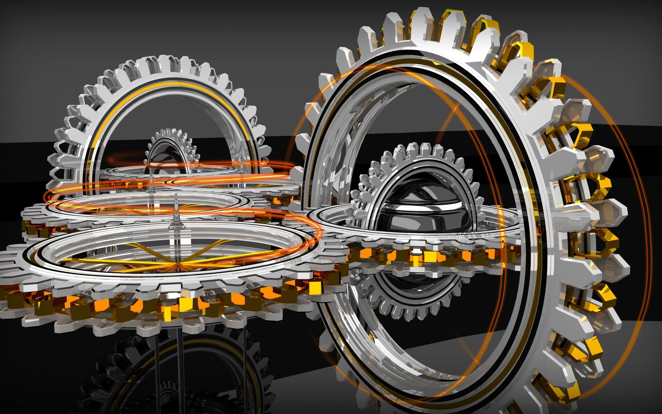 2560x1600 4k Hd Wallpaper 3 Abstract 3d Concentric Gears Mechanical Engineering Wallpaper Mechanic