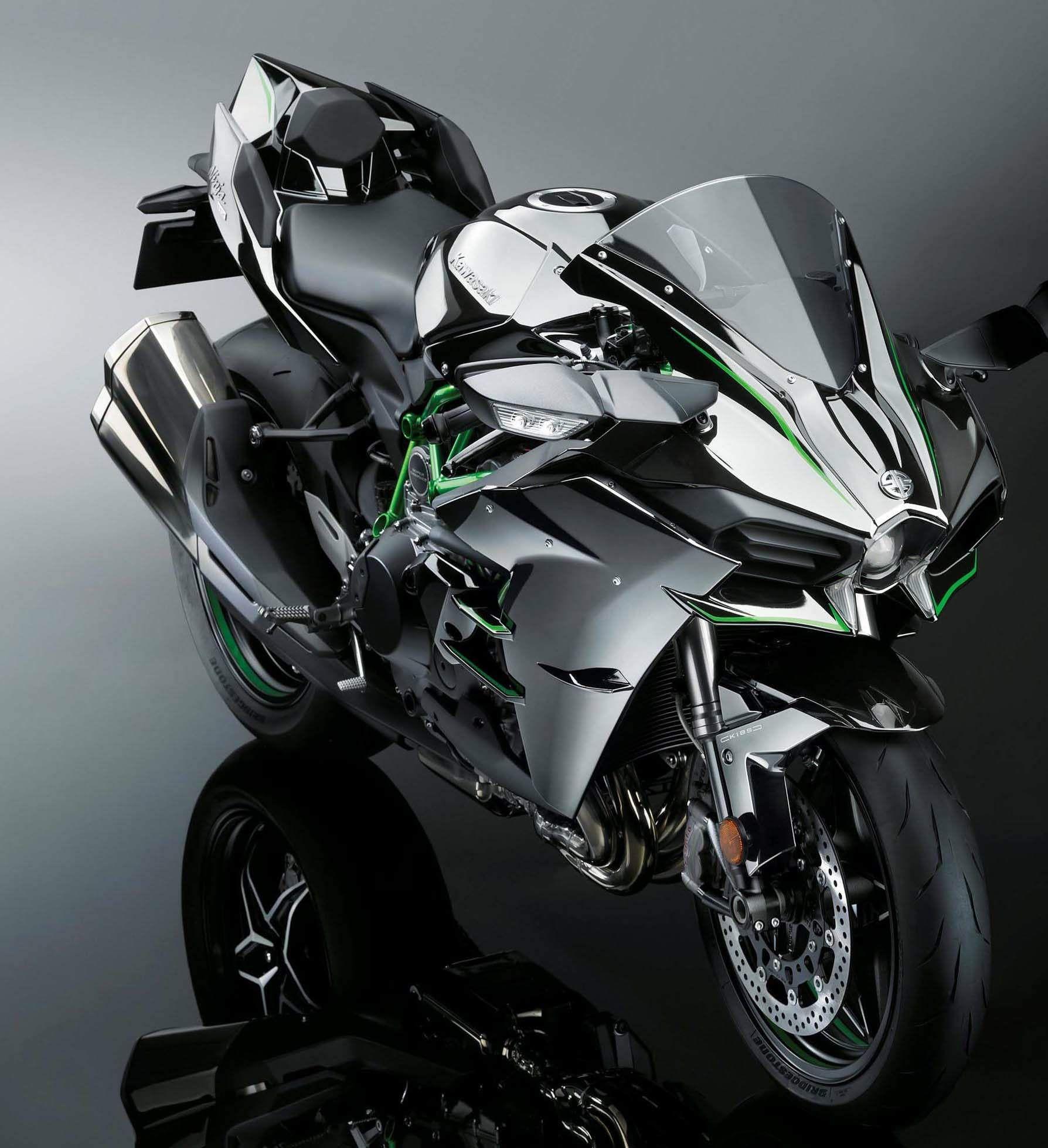 Kawasaki Ninja H2 Zx 1000 Gear And Bikes Pinterest Motos Moto