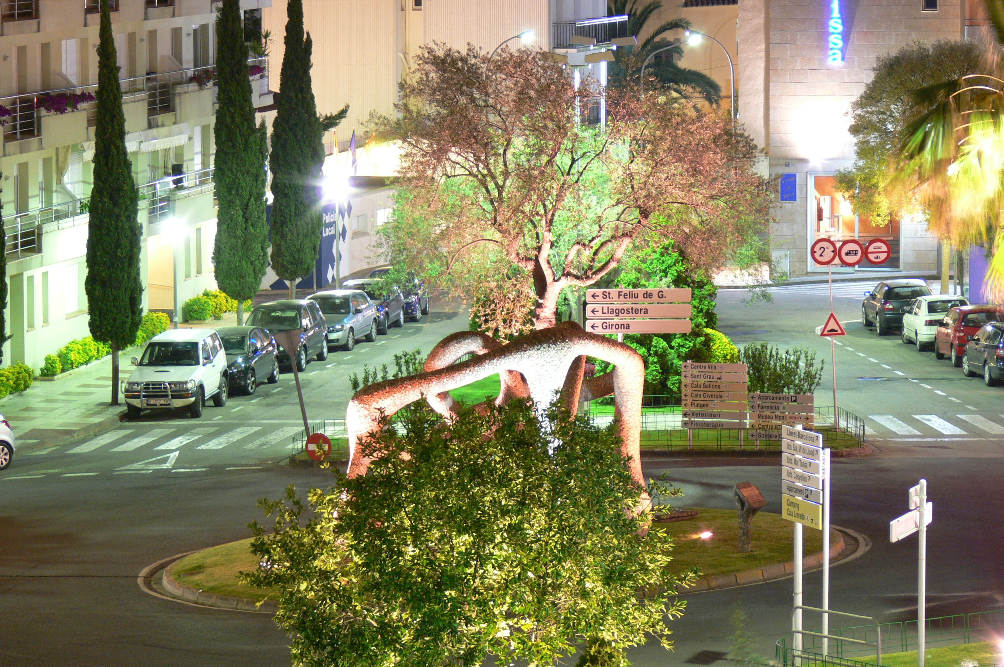 Kreisverkehr - Tossa de Mar Spanien