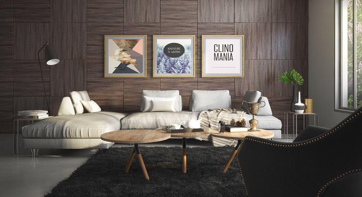 Wand Textur Designs für das Wohnzimmer Ideen  Inspiration Wall