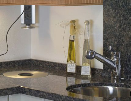 Pop Up Power Ports For Kitchen Counter Tops Kitchen Pinterest Counter Top And Kitchens
